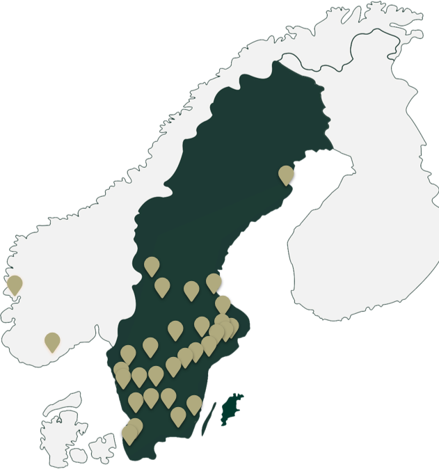 Illustration of scandinavia